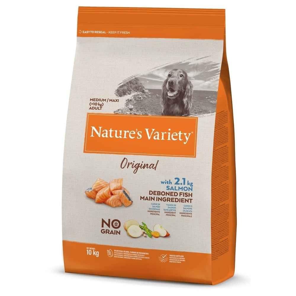 Nature\'s Variety - Croquettes pour Chien Adult Original  - Saumon