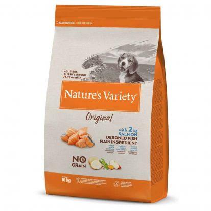Nature\'s Variety - Croquettes pour Chiot  Original Saumon