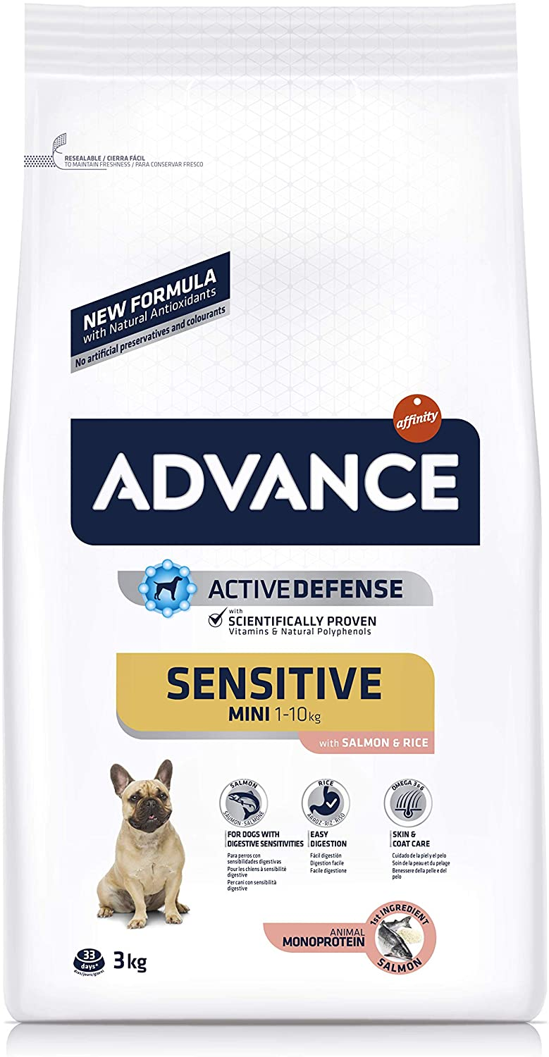 ADVANCE Croquette pour chien Mini Adult Sensitive - Saumon 3 kg