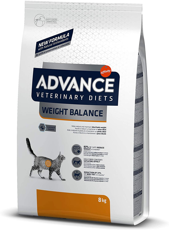 ADVANCE Veterinary Diets - Croquette pour Chat Weight Balance - 8kg