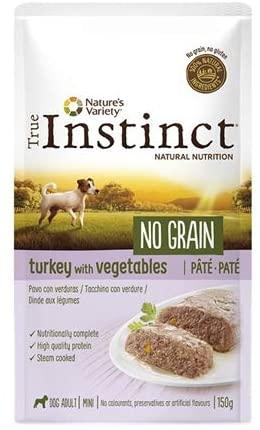 True Instinct -Patee  No Grain - Chien Mini - Dinde