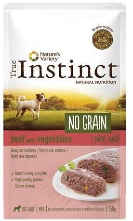 True Instinct -Patee  No Grain - Chien Mini - Bœuf
