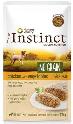 True Instinct -Patee  No Grain - Chien Mini - Poulet
