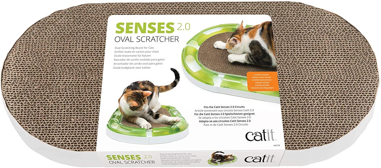 Catit - Griffoir Senses 2.0 Oval Scratcher