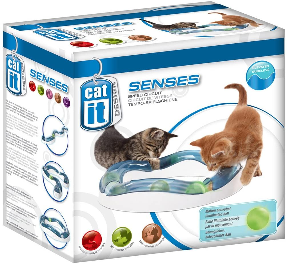 Catit - Jeux Speed Circuit pour chat