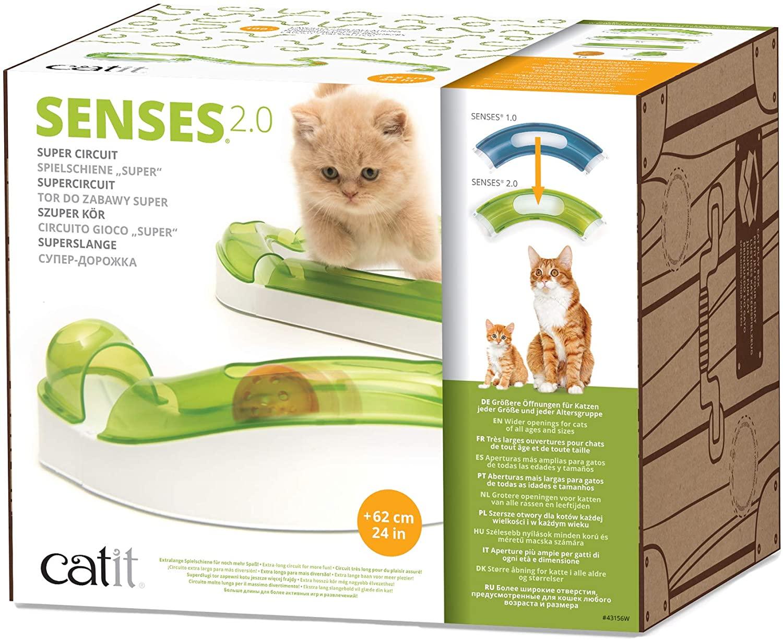 Catit - Sense Super Circuit Vague pour chat
