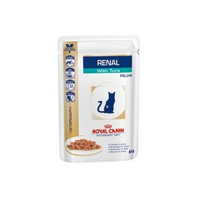 ROYAL CANIN Veterinary Diet - Renal Thon  - 12 Sachets de 85g