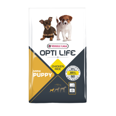 OPTI LIFE - Puppy Mini - Poulet et Riz