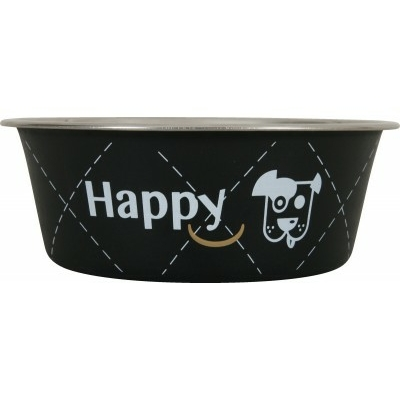 "Ecuelle Inox ""Happy"" - Noir"