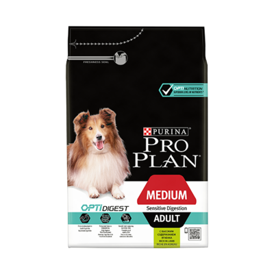 Purina Proplan - Adult Medium - Sensitive Digestion - Agneau