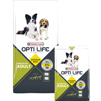 OPTI LIFE - Adult Medium - Poulet et Riz