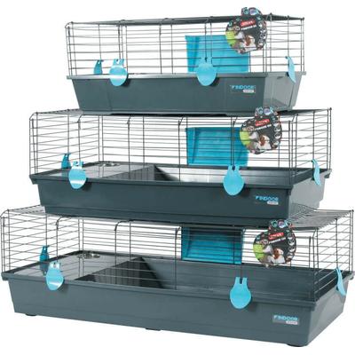 Cage Indoor Bleu pour Lapin - cochon d'inde