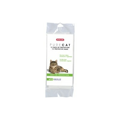 Zolux-12 Sacs de protection Pure Cat
