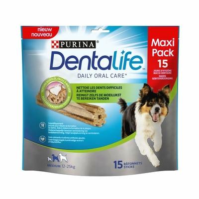 Purina Dentalife - chien de taille moyenne - 15 bâtonnets