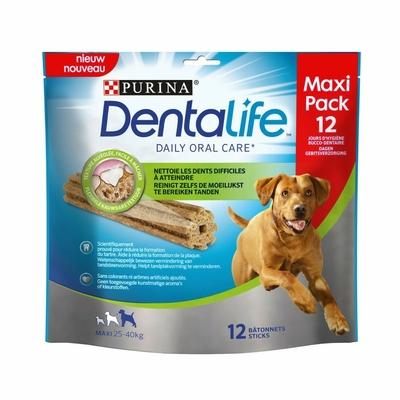 Purina Dentalife - chien de grande taille  - 12 bâtonnets