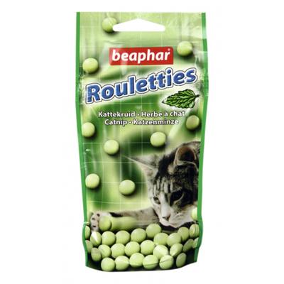 Rouletties, friandises à l'herbe à chat