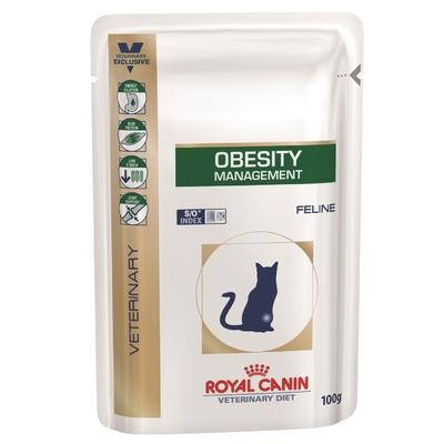 Royal Canin Veterinary Diet - Obesity - Lot de 12 Sachets 100g