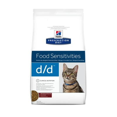 HILL'S Prescription Diet Feline d/d skin Support - 1,5kg