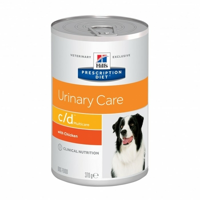 HILL'S Prescription Diet Canine c/d multicare - 12 boites 370g