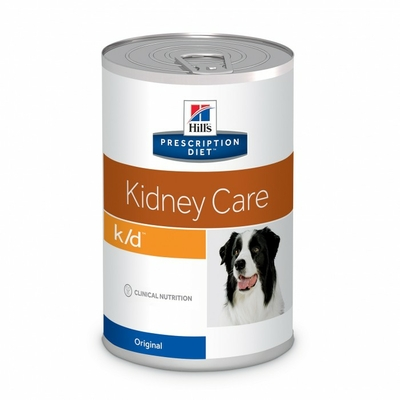 HILL'S Prescription Diet Canine k/d - 12 boites 370g