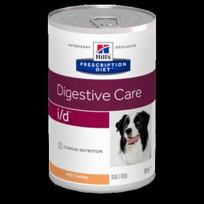 Hills Prescription Diet i/d Canine à la Dinde - 12 Boites 360g