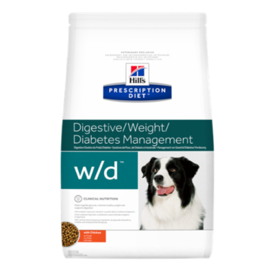 Prescription Diet - Canine w/d - Poulet