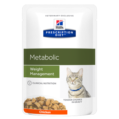 Hill's Prescription Diet Feline Metabolic - 12 Sachets 85gr