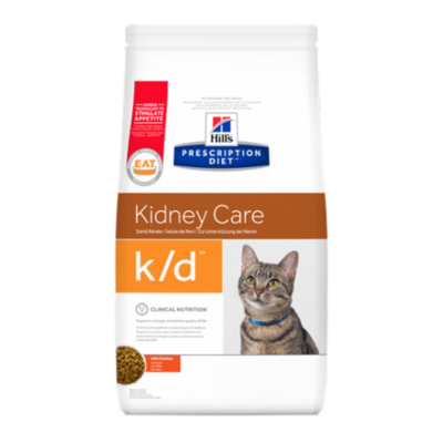 Hill's Prescription Diet k/d Feline au Poulet