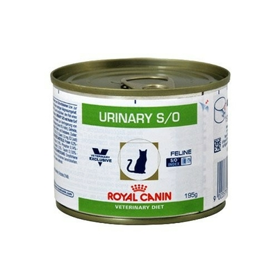 ROYAL CANIN Veterinary - Cat Diet Urinary S/O - 12 Boites 195g
