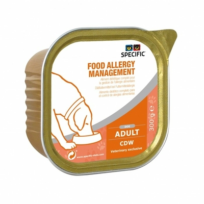 Specific - CDW -  Food Allergy Management - Lot de 6 barquettes 300g
