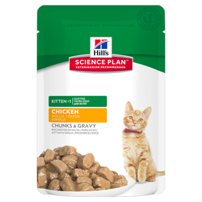 Hills Science Plan - Kitten Poulet - 12 Sachets 85g