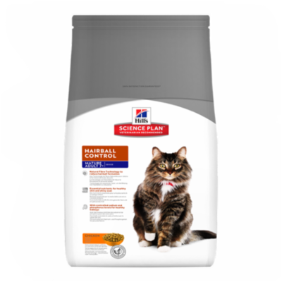 Hill's Science Plan - Feline Mature Adult 7+ Hairball Control Chicken - 1,5kg