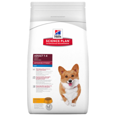 Hill's Science Plan™ Canine Adult Advanced Fitness™ Mini - Poulet