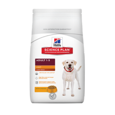 Hill's Science Plan Canine Adult Light Large Breed - Poulet