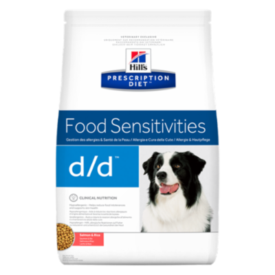 HILL'S Prescription Diet Canine d/d - Saumon et Riz
