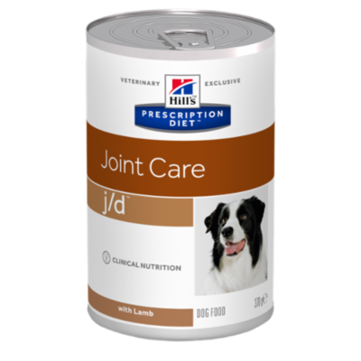 HILL'S Prescription Diet Canine j/d  - Agneau- 12 boites 370g
