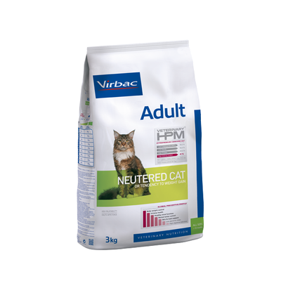 VIRBAC Veterinary - HPM CAT Adult Neutered