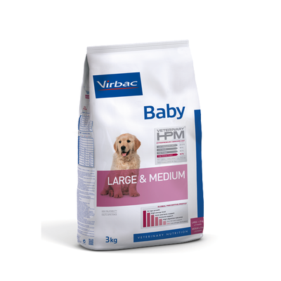 VIRBAC Veterinary - HPM Chiot large& Medium