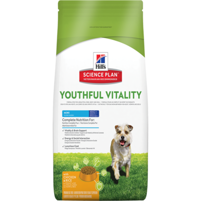 Hills Science Plan - Chien Adult7+ - Youthful Vitality Mini- Poulet et riz
