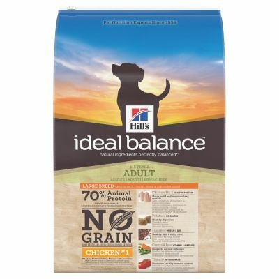 Hill's Ideal Balance - Large Breed No Grain Poulet - 12kg