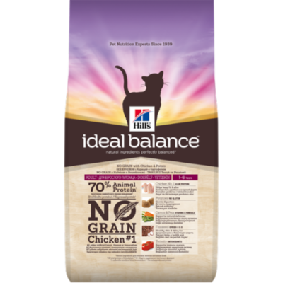 Hills Ideal Balance - Chat Adult No Grain- Poulet - 1,5kg