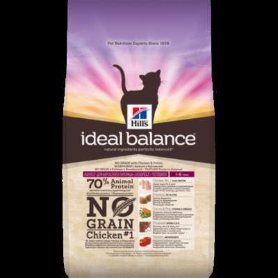 Hills Ideal Balance - Chat Adult No Grain- Poulet - 1,5kg