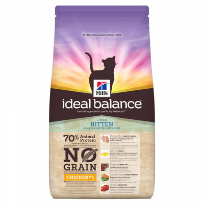Hills Ideal Balance - KITTEN No Grain- Poulet - 1,5kg