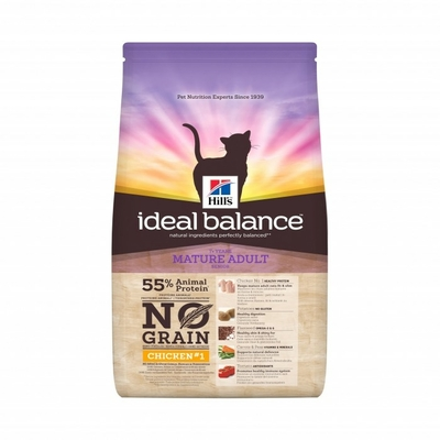 Hills Ideal Balance - Chat Mature No Grain- Poulet - 1,5kg
