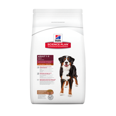 Hill's Science Plan Canine Adult  - Large Breed - Advanced Fitness - Agneau - 18kg
