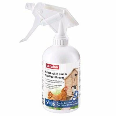 Spray stop poux rouges pour poules
