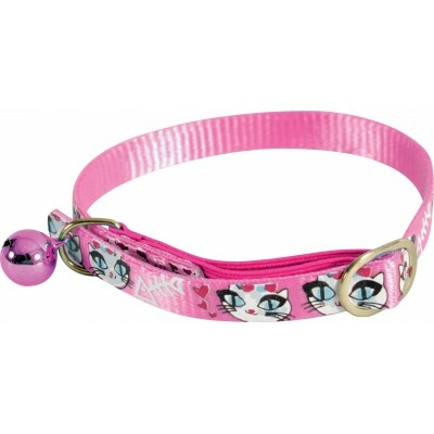 Zolux-Collier en nylon - LadyCat rose