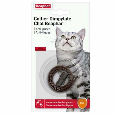 Collier Dimpylate - Antiparasitaire pour chat