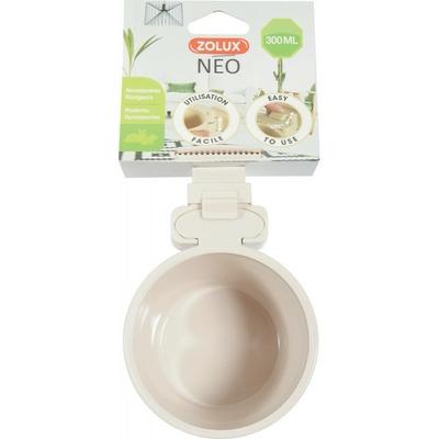Zolux-Mangeoire plastique Neo-Beige