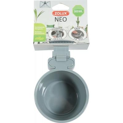 Zolux-Mangeoire plastique Neo - Gris
